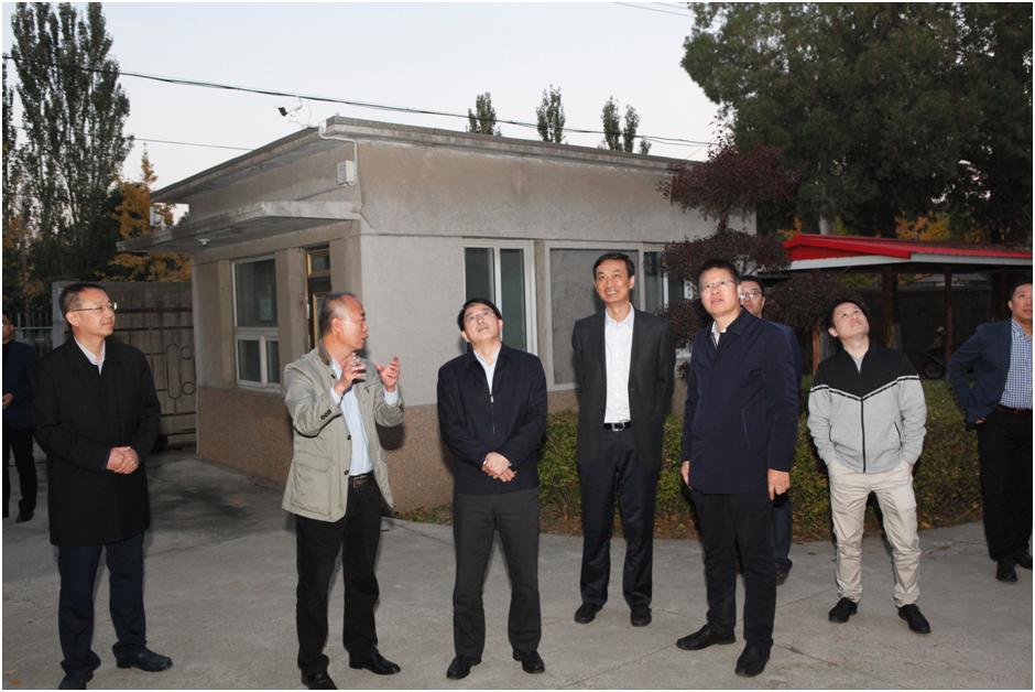 科技部中国农村技术开发中心到果树所调研